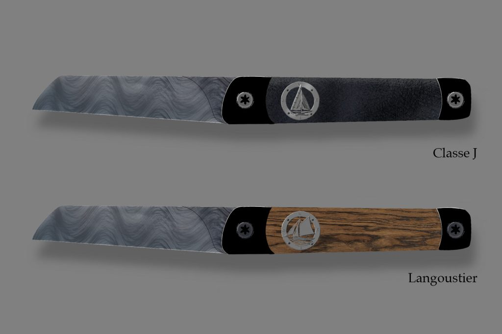 Design des deux couteaux