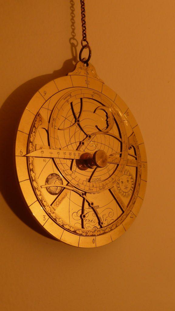 Création d'un astrolabe