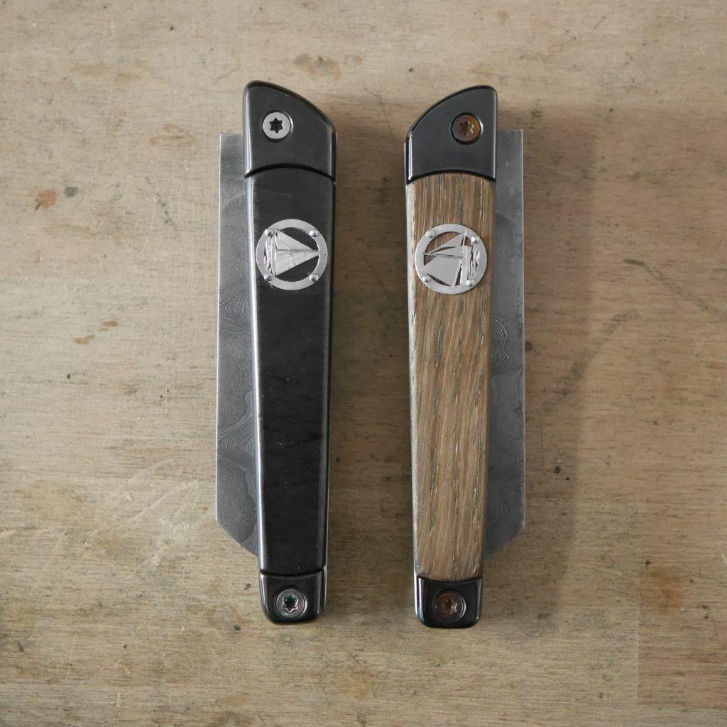 Couteaux dos à dos
